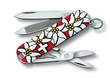 0.6203.840 VICTORINOX CLASSIC EDELWEISS SWISS ARMY POCKET KNIFE 58 MM - 7 TOOLS