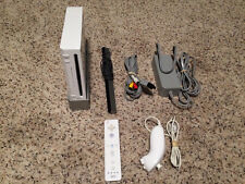 Wii System/Console Nintendo White cords cable Rvl-001 Game Cube Support Tested