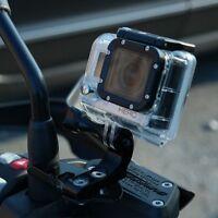Halterung Action cam an Spiegel,GoPro,Rollei,Garmin VIRB X,BMW R1200R ab 2010
