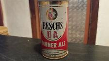 rare vintage reschs DA dinner ale  beer tin  can
