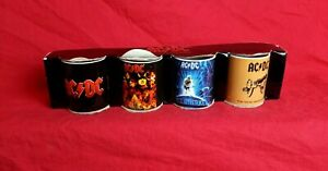 Live Nation Merchandise AC/DC Rock Group Coffee Mini Mugs Set Of 4