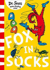 Fox in Socks By Dr Seuss NEW (Paperback) Childrens Book
