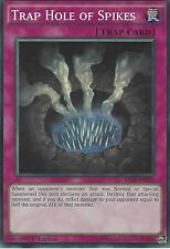 YU-GI-OH: TRAP HOLE OF SPIKES - SUPER RARE - MIL1-EN022 - 1st EDITION