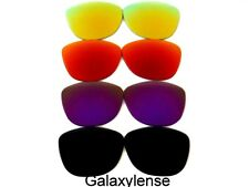 Galaxy Replacement Lenses For Oakley Frogskins Black&Purple&Red&Gold 4PAIRS