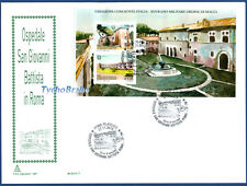 FDC HOSPITAL ST. JOHN BAPTIST 2015 JOINT SMOM ITALY First Day Cover - CAPITOLIUM