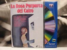 LA ROSA PURPUREA DEL CAIRO - WOODY ALLEN LASER DISC NUOVO SIGILLATO NEW SEALED
