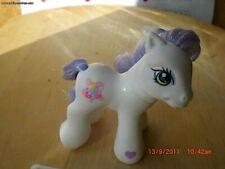 Rare Baby Goody Gumdrop, My Little white G3 Pony purple Hair