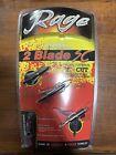 "New RAGE SlipCam Rear Deploying 2-Blade SC 2"" + Cut Broadheads - 3 Pack"