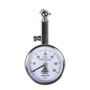 Autometer 60 PSi Peak/Hold Mechanical Tire Pressure Gauge