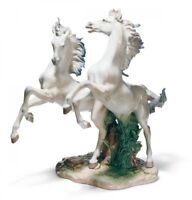 Lladro Limited Edition LARGE Horses  01001860 FREE AS THE WIND 1860 BRAND NEW