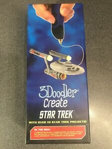NEW IN BOX 3Doodler 3D Printing Pen Set Licensed Star Trek LIMITED EDITION Space