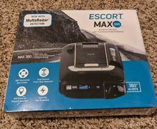 Escort Max 360 Radar Detector - Black