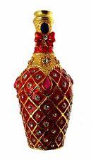 Imperial Treasures Jewelled & Enamelled Trinket Box Mini Champagne Bottle