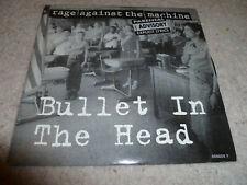 "RAGE AGAINST THE MACHINE-Bullet In The Head VINYL 7"" COLOURED VINYL"