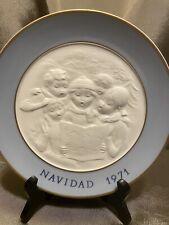 Navidad Lladro Collectible 8� Plate 1971