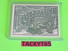 2015 MARS ATTACKS OCCUPATION WOODCUT ART CARD DA-LP4 CRUSHING THE POLICE