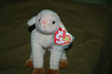 EWEY the LAMB  - Ty Beanie Baby  -  MWMT - Cute Little Lamb - Fast Shipping