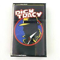 Dick Tracy Audio Cassette Tape 1990
