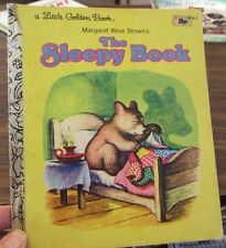 THE LITTLE GOLDEN BOOK ;MARGARET WISE BROWN'S THE SLEEPY BOOK; SC 1975