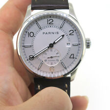 41mm Parnis Automatic Movement Men's Casual Mechanical Watch Small Second Date