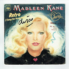 """Madleen KANE Vinyl 45T 7"""" RETRO Long For Ago CHERI - CBS 7393 Frais Rèduit RARE"""