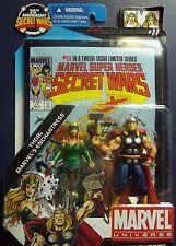 Marvel SUPER HEROES~SECRET WARS #11 ~THOR &ENCHANTRESS~COMIC PAK FIGURES 2009