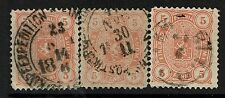 Finland SC# 26, Used, Three cancel varieties, middle has pg rem - Lot 082017