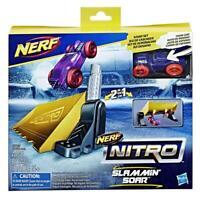 Hasbro Nerf Slammin' Soar Stunt Car Set Blaster Kids Children Ages 5+