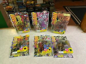 PLAYMATES Lot of 6 WILDCATS Action Figure Collection Set Comic Book Series NIP