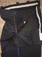 Horace Small Uniform Pants Dark Blue W/Blue Stripe 35R X 31 (3 Pair Lot) USED