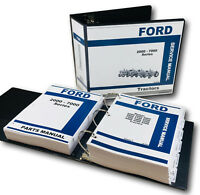 FORD 2000 3000 4000 5000 7000 SERIES TRACTOR SERVICE PARTS REPAIR MANUAL SHOP OH