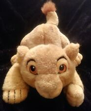 Vintage DISNEY THE LION KING Pouncing SIMBA Baby Cub Plush Stuffed animal toy