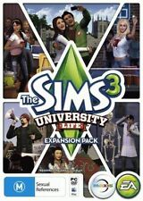 The Sims 3: University Life - PC MAC - expansion pack - fast free post