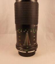 Focal  80-200mm F/4.5 -5.6 Lens  Minolta Mount o52