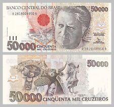 Brasilien / Brazil 50000 Cruzeiros 1992 p234a unz.