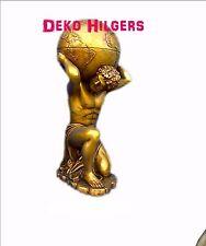 Globus Bar Figur Herkules Welt Atlas Minibar Dekoration Reklame Skulptur F50+