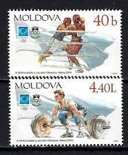 Moldavie 2004 JO été Athènes Yvert n° 428 et 429 neuf ** 1er choix