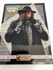 WWF WWE MERLIN STICKER ALBUM 1994