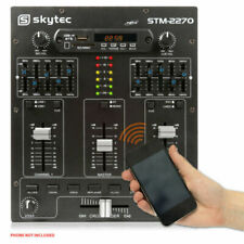 Skytec STM-2270 4-Channel Mixing Console - Black