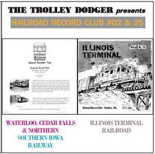 Illinois & Iowa Trolley Audio on CD - Railroad Record Club #02 & 25