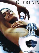 I- Publicité Advertising 2008 Parfum Eau de Shalimar Guerlain