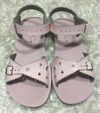 Sun-San Salt Water Sandals by Hoy Girls Sweetheart Patent Leather YOUTH Size 3
