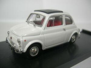 Fiat 500L Bianco Aurora Brumm 1:43 R465-03 Modellino Auto Diecast
