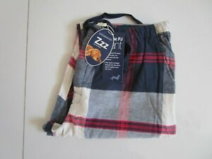 Peter Alexander Men's Check Long Flannelette Pyjama / Lounge Pants  Size M