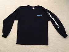 Iron Lung Corp I Love Heavy Metal Long Sleeve T-Shirt XL vintage ILC Acumen 90s