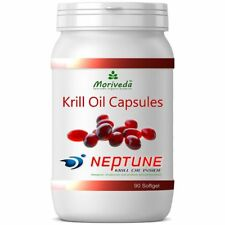 NEPTUNE Premium Krillöl 90 Krill Öl Kapseln - beste Markenqualität (3x90)