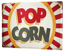 Tin Sign XXL Kitchen  Popcorn
