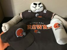 Cleveland Browns Sweatshirt, Hat And Other Memorabilia Lot