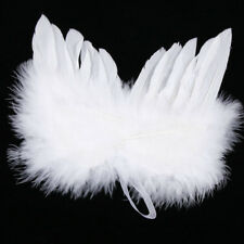 Well Angel White Feather Wing Christmas Tree Decoration Hanging Ornament Wedding