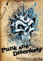PUNK AND DISORDERLY - THE FESTIVAL DVD VOL.1  2 DVD NEW+